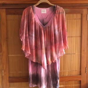 Gypsy05 NWT Tie Dye Flowy Top Dress